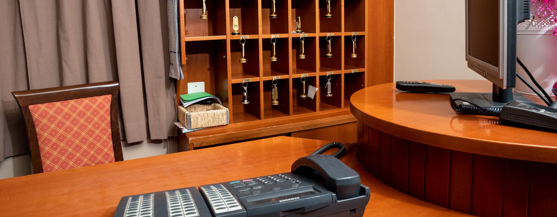 reception albergo paestum